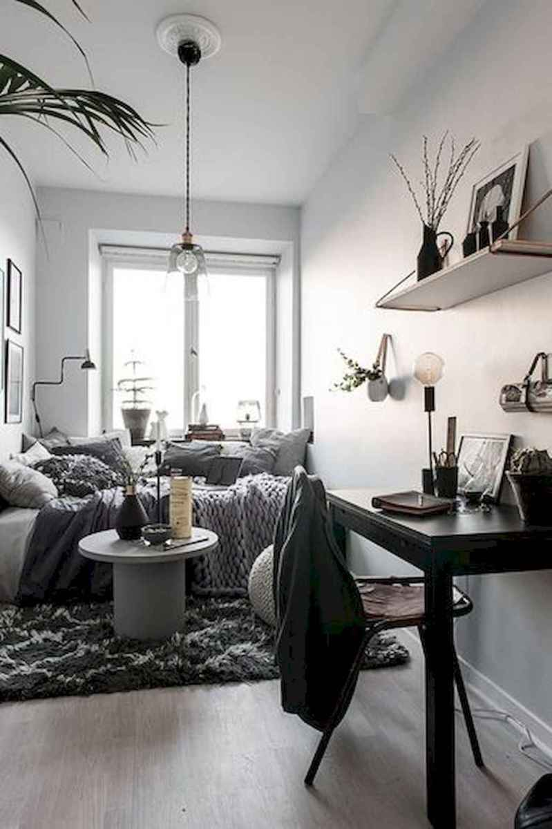Small apartment studio decorating ideas on a budget (55)