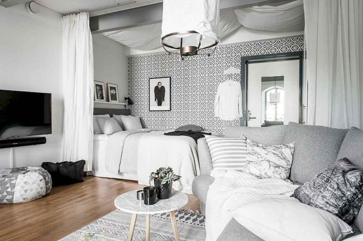 Small apartment studio decorating ideas on a budget (56)