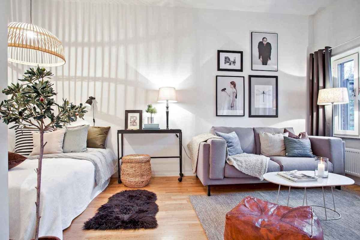 Small apartment studio decorating ideas on a budget (69)
