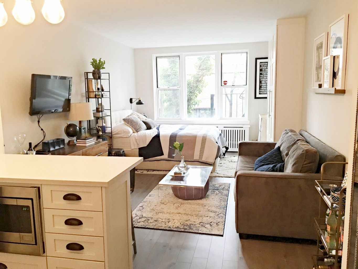 Small apartment studio decorating ideas on a budget (84)