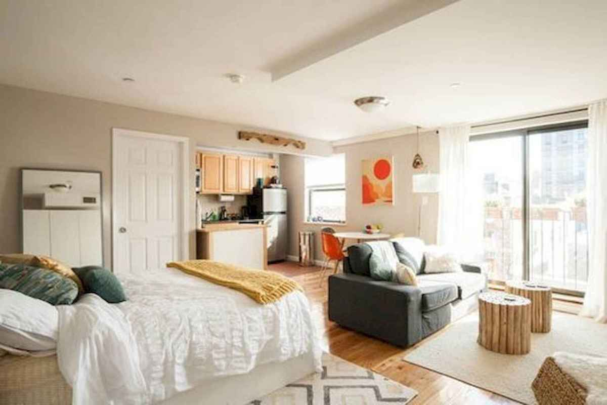Small apartment studio decorating ideas on a budget (9)