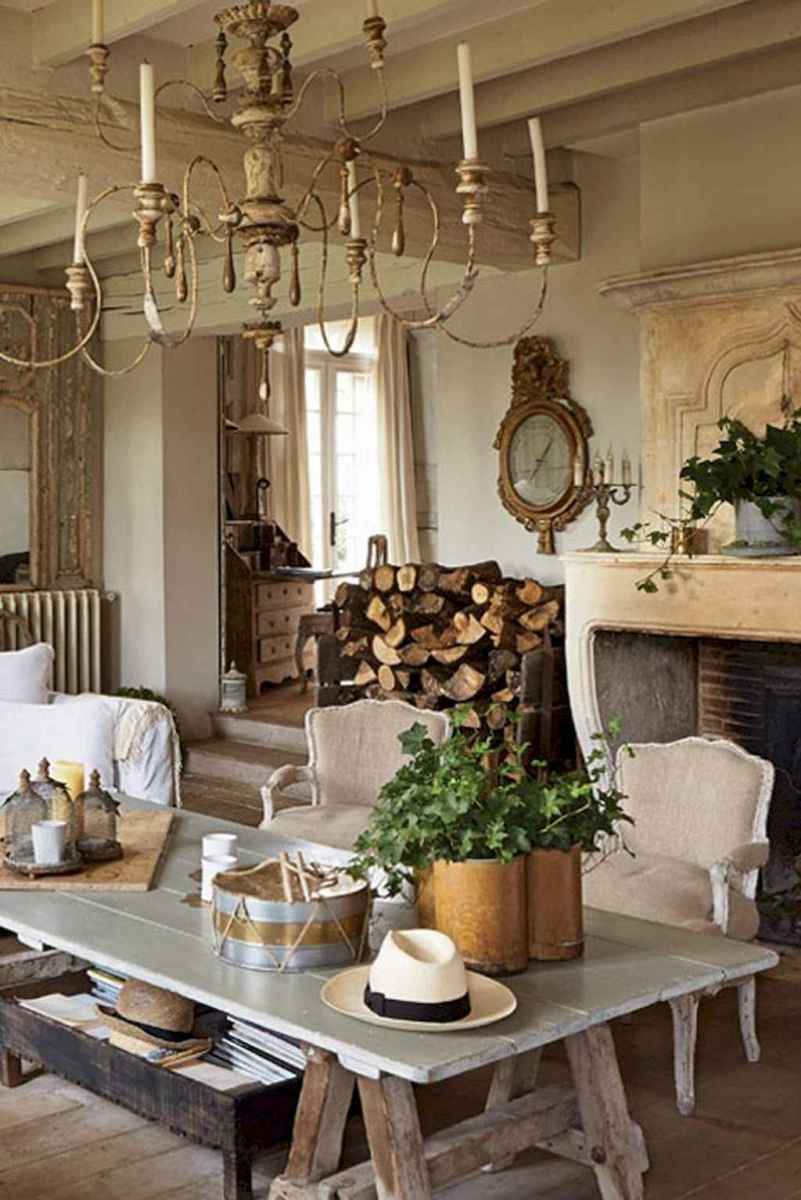 Beautiful french country dining room ideas (17)