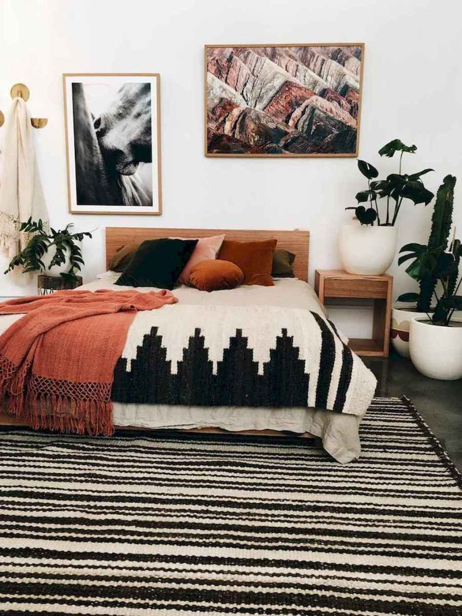 Bohemian style modern bedroom ideas (16)