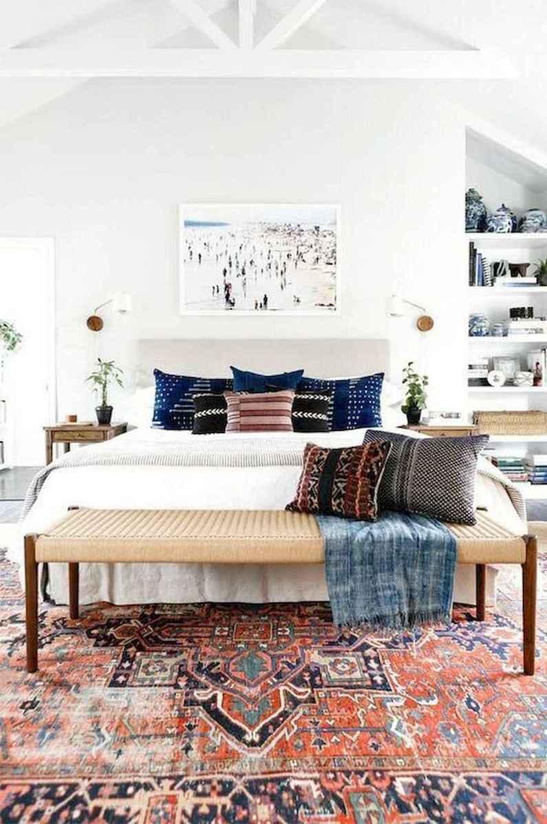 Bohemian style modern bedroom ideas (26)