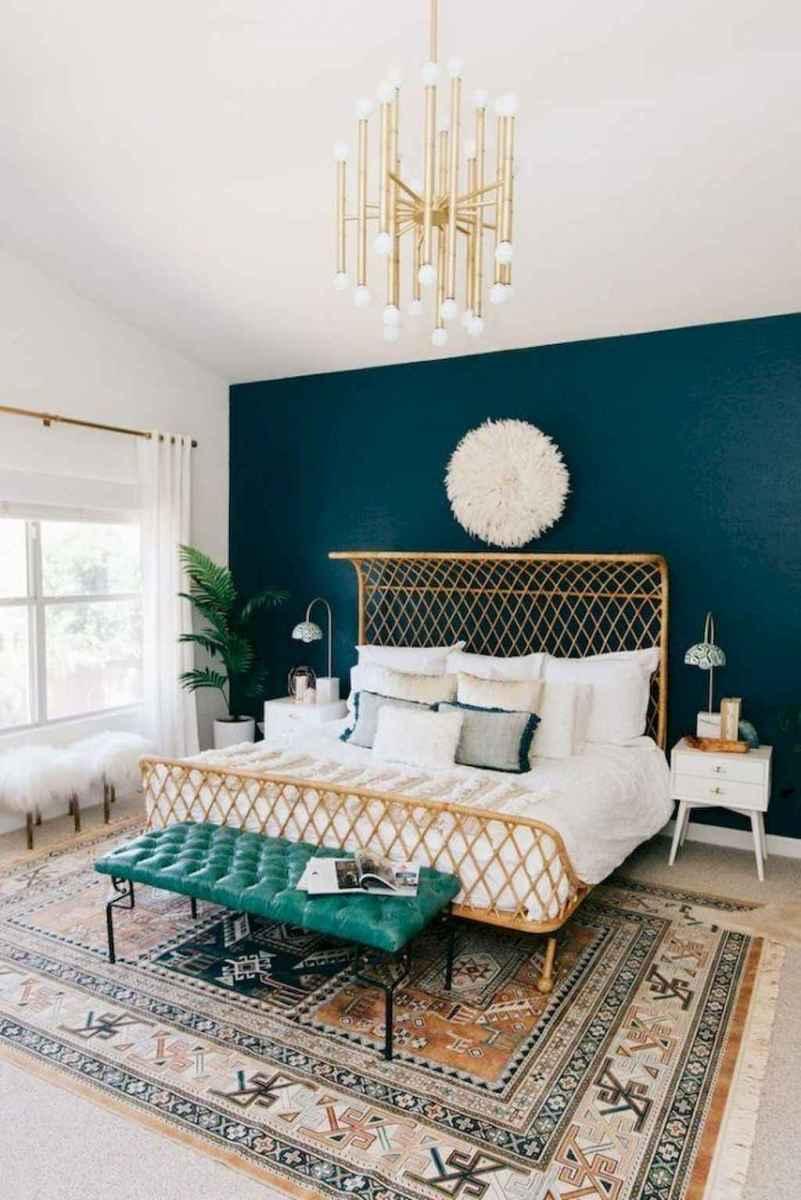 Bohemian style modern bedroom ideas (27)