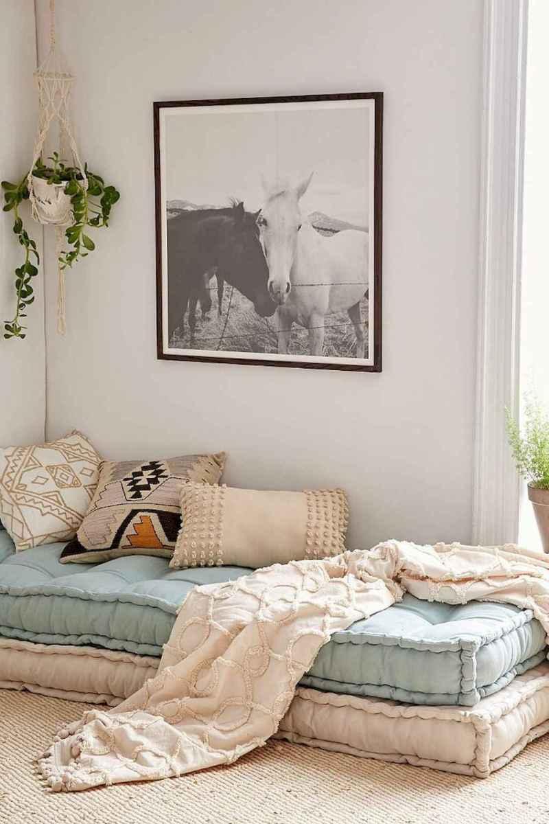 Bohemian style modern bedroom ideas (28)