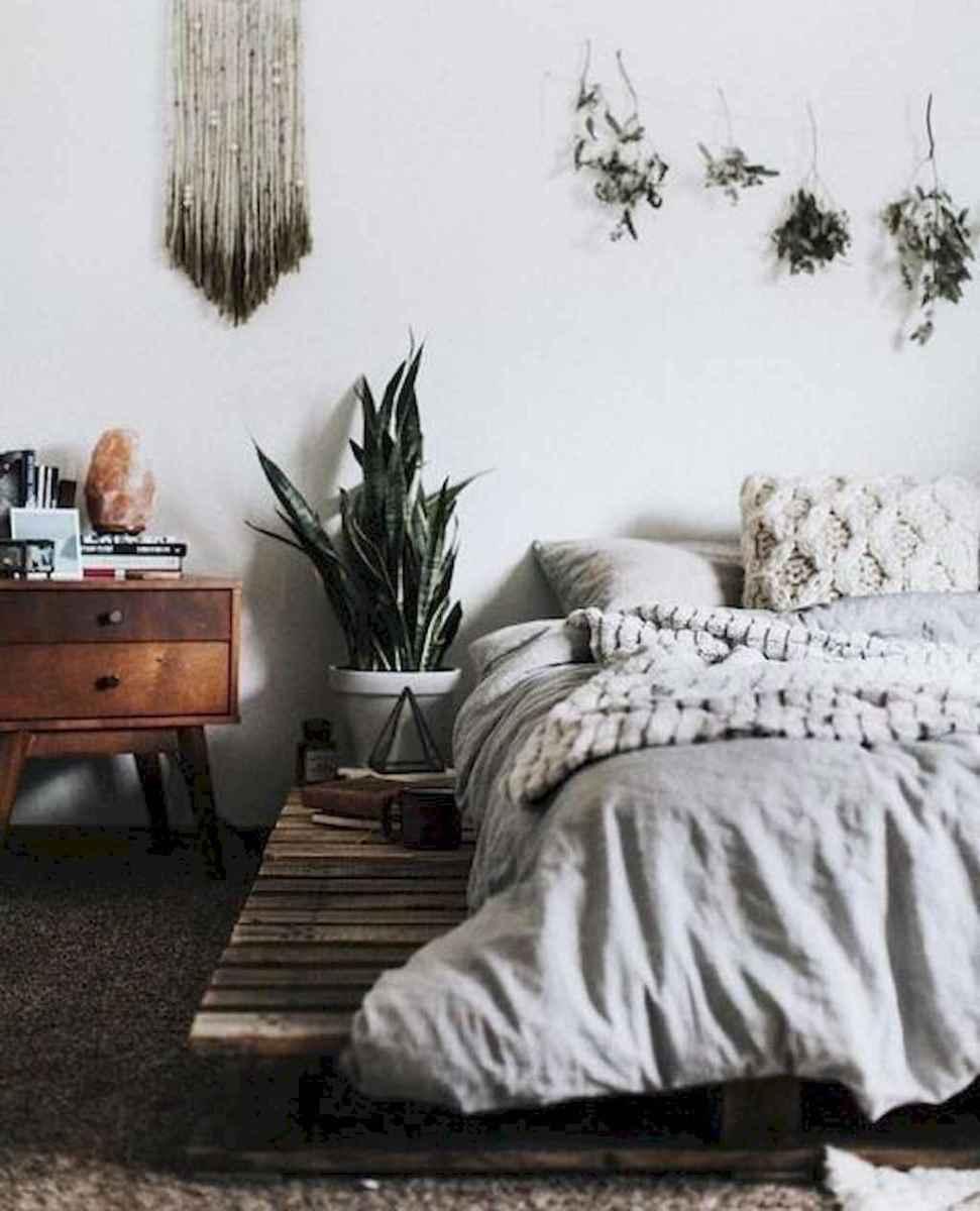 Bohemian style modern bedroom ideas (40)