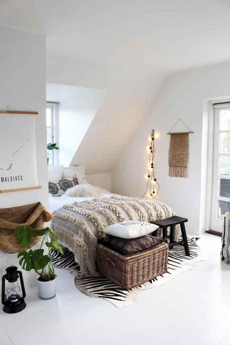 Bohemian style modern bedroom ideas (42)
