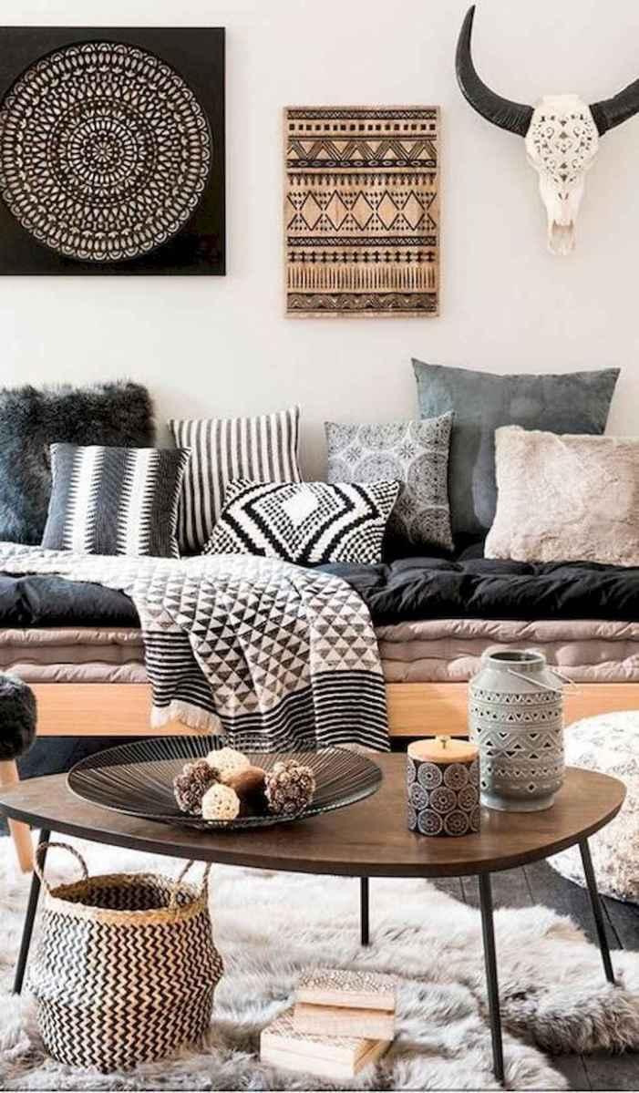 Bohemian style modern bedroom ideas (45)