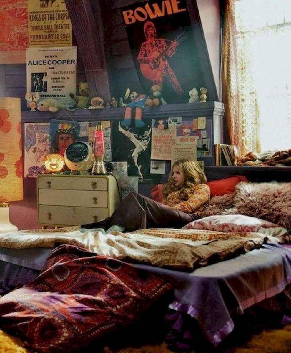 Bohemian style modern bedroom ideas (47)