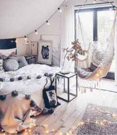 Bohemian style modern bedroom ideas (67)