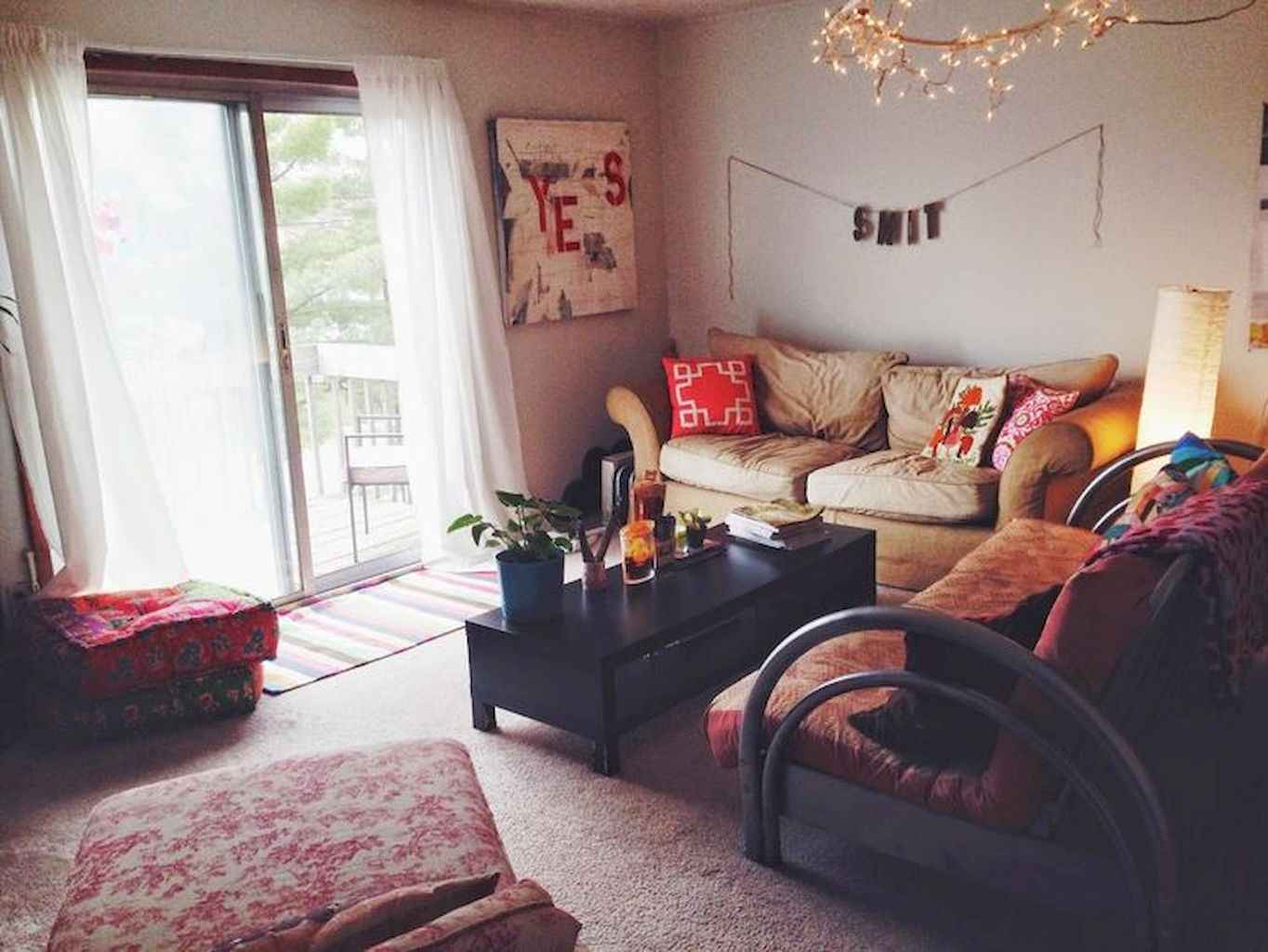 Cozy apartment decorating ideas on a budget (60)