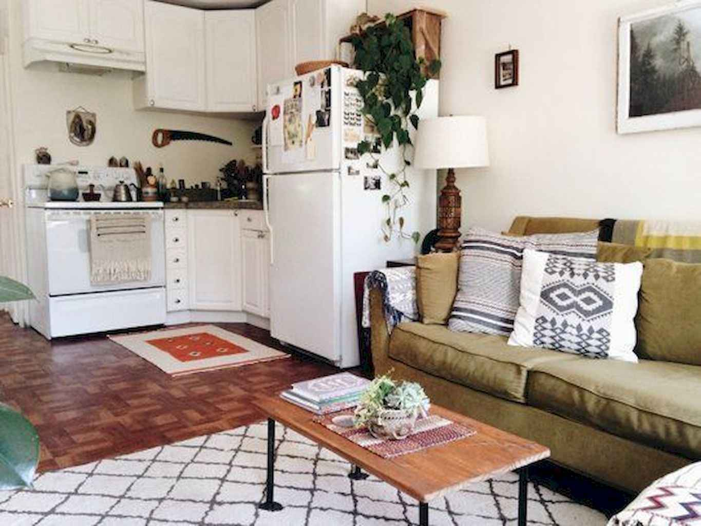 Cozy apartment decorating ideas on a budget (65)