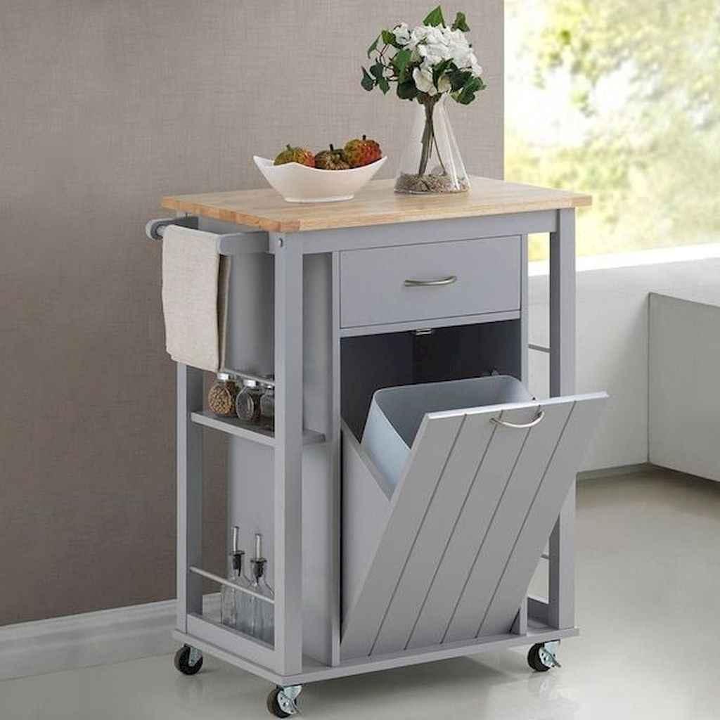 Gorgeous gray kitchen cabinet makeover ideas (5)