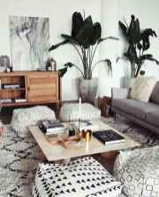 Modern bohemian living room decor ideas (14)