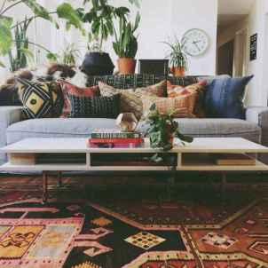 Modern bohemian living room decor ideas (24)