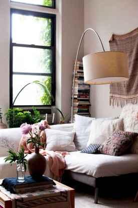 Modern bohemian living room decor ideas (49)