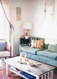 Modern bohemian living room decor ideas (5)