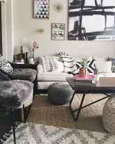 Modern bohemian living room decor ideas (60)