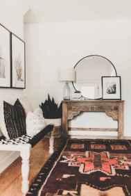 Modern bohemian living room decor ideas (72)