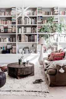 Modern bohemian living room decor ideas (83)
