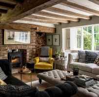 Modern bohemian living room decor ideas (84)