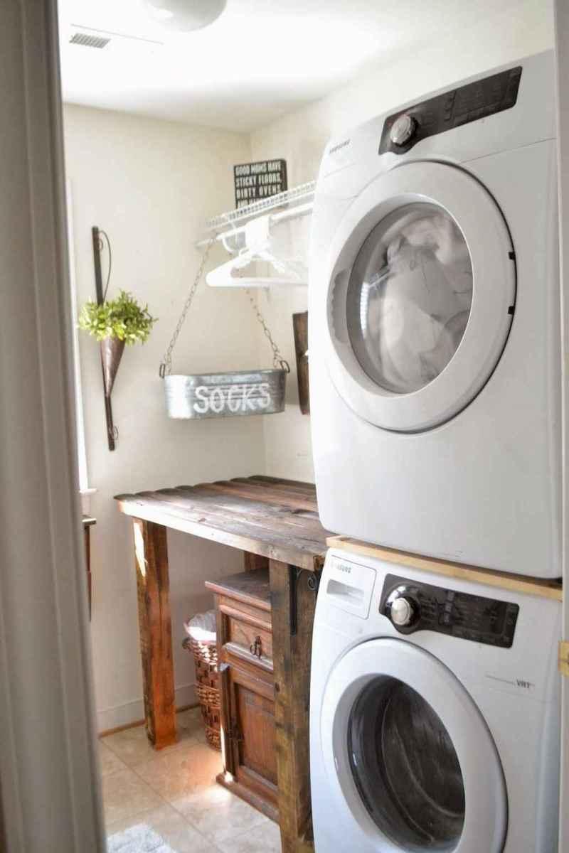 Modern farmhouse laundry room ideas (15)