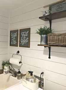 Modern farmhouse laundry room ideas (26)