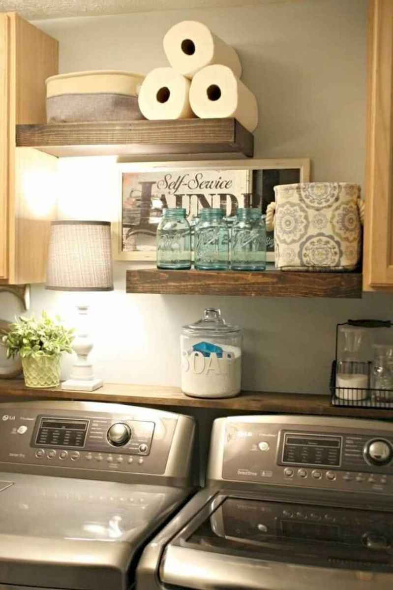 Modern farmhouse laundry room ideas (44)