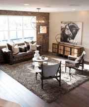 Rustic modern farmhouse living room decor ideas (14)