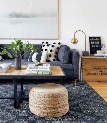Rustic modern farmhouse living room decor ideas (57)