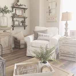 Rustic modern farmhouse living room decor ideas (63)