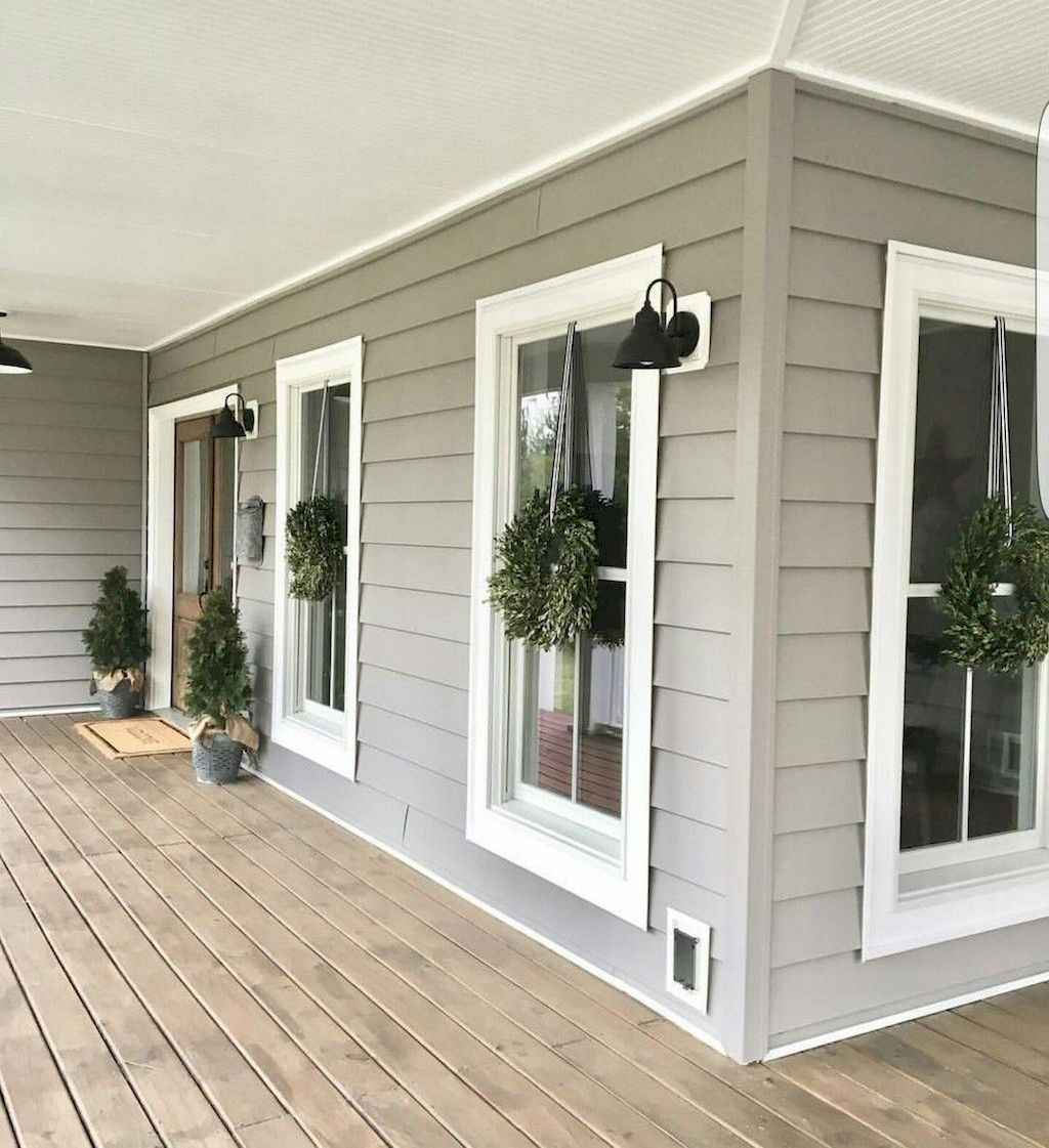 23 modern farmhouse front porch decorating ideas
