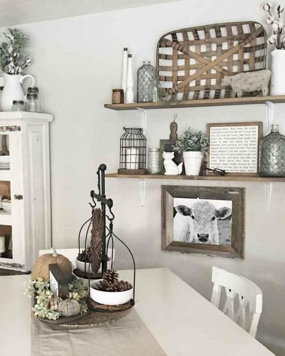 27 best farmhouse dining room makeover decor ideas