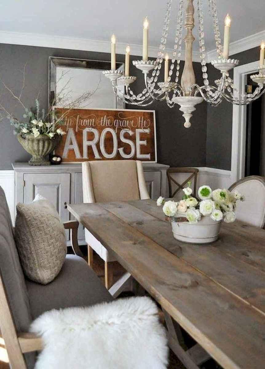 30 best farmhouse dining room makeover decor ideas