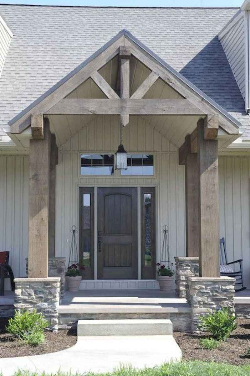 30 modern farmhouse front porch decorating ideas
