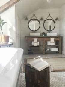 33 best farmhouse bathroom remodel decor ideas