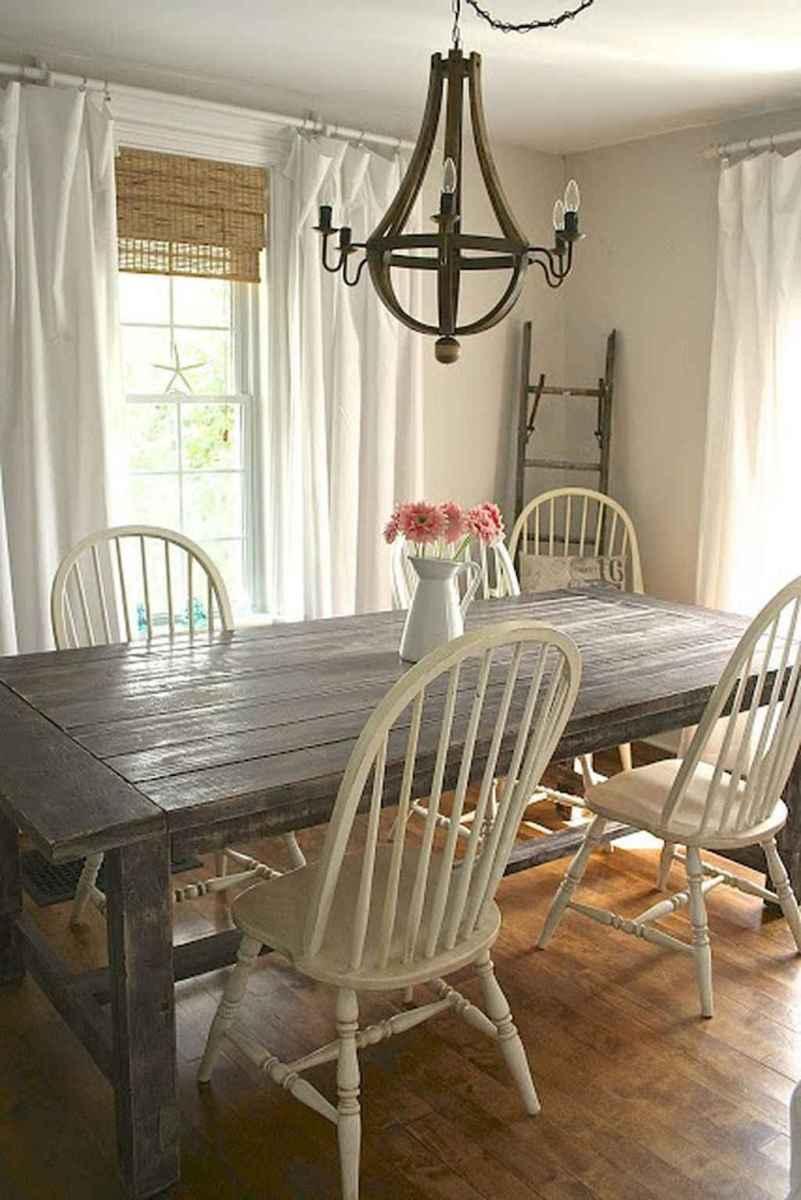 34 best farmhouse dining room makeover decor ideas