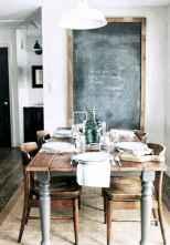 40 best farmhouse dining room makeover decor ideas