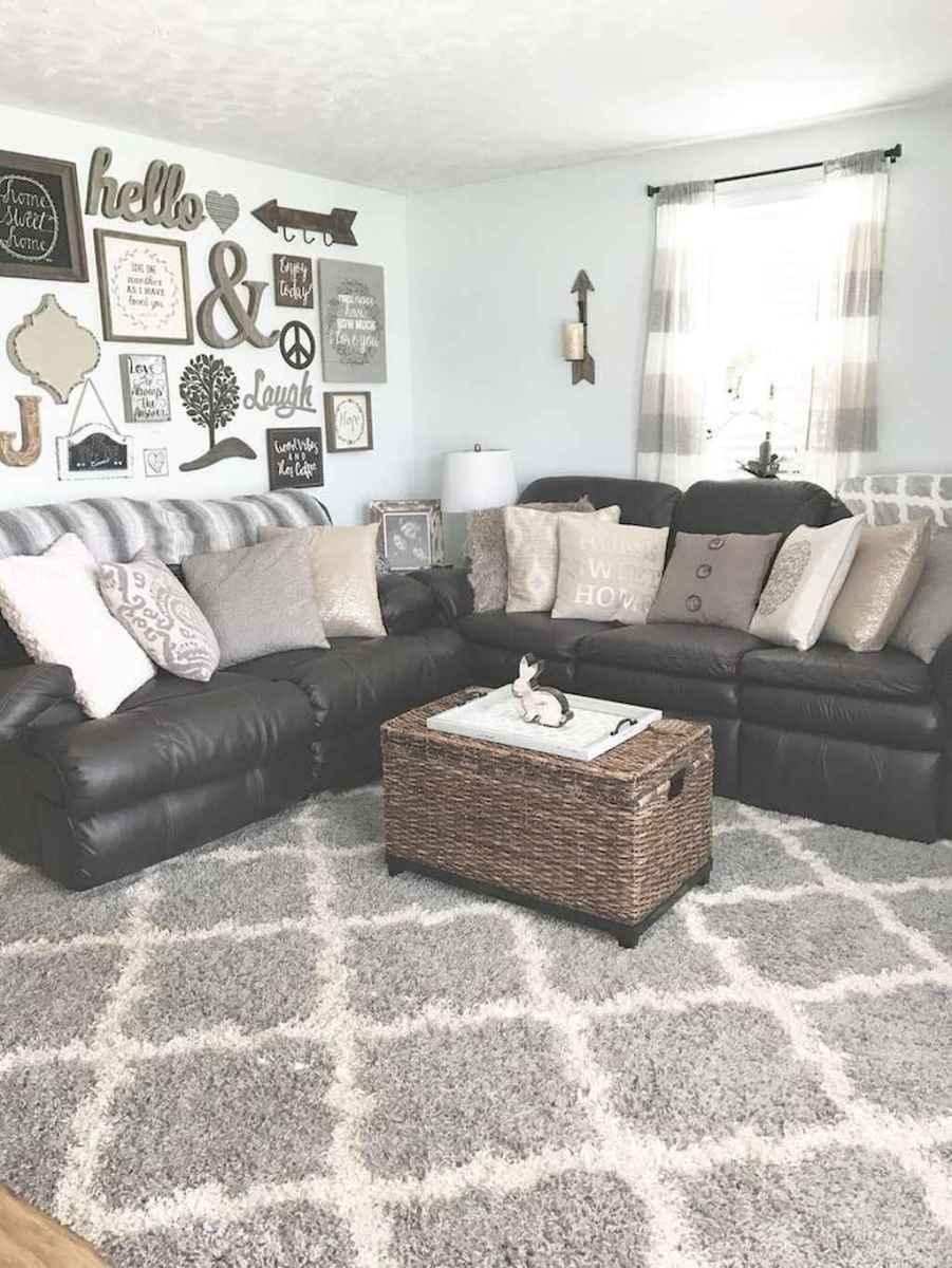 41 cozy modern farmhouse living room decor ideas - HomeSpecially