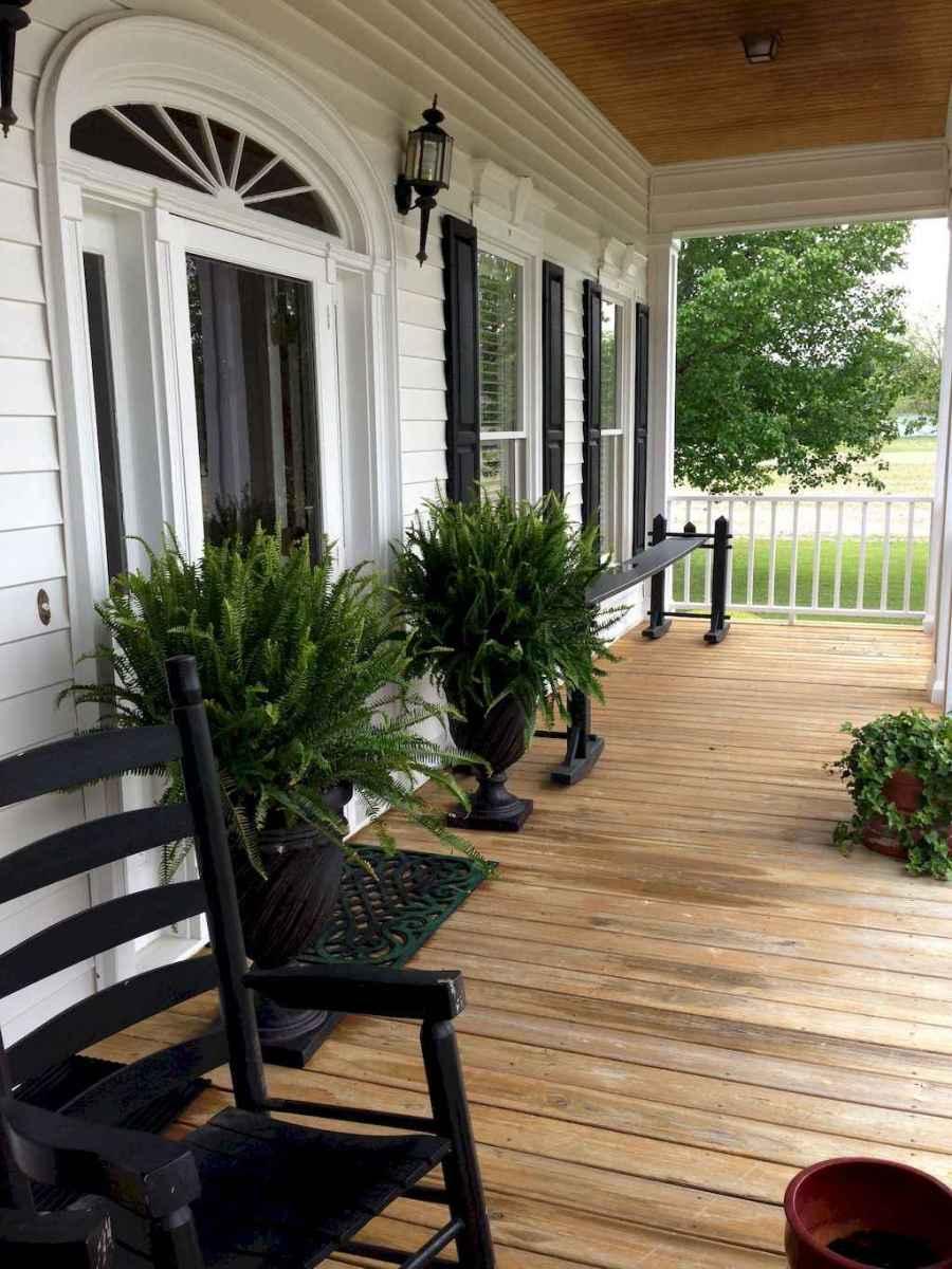41 modern farmhouse front porch decorating ideas