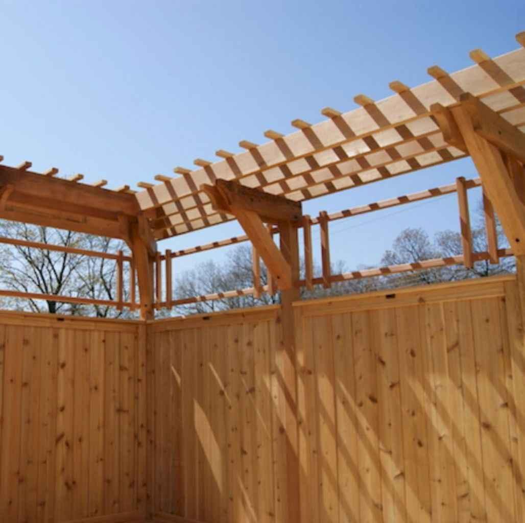 42 easy cheap backyard privacy fence design ideas