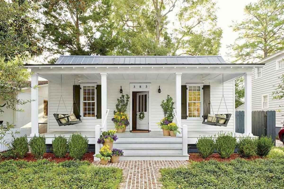 54 modern farmhouse front porch decorating ideas