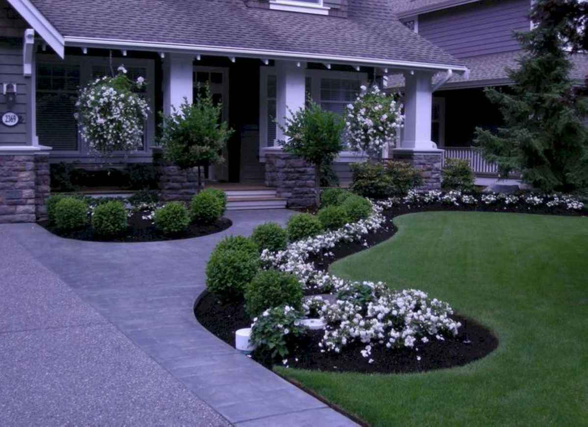54 simple and beautiful front yard pathways landscaping ideas