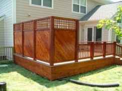 56 easy cheap backyard privacy fence design ideas