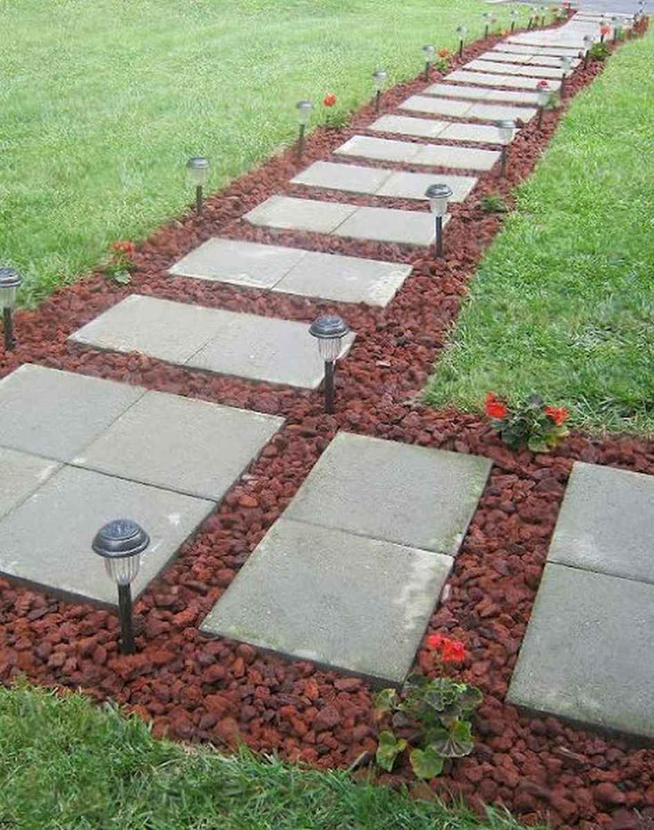 56 simple and beautiful front yard pathways landscaping ideas
