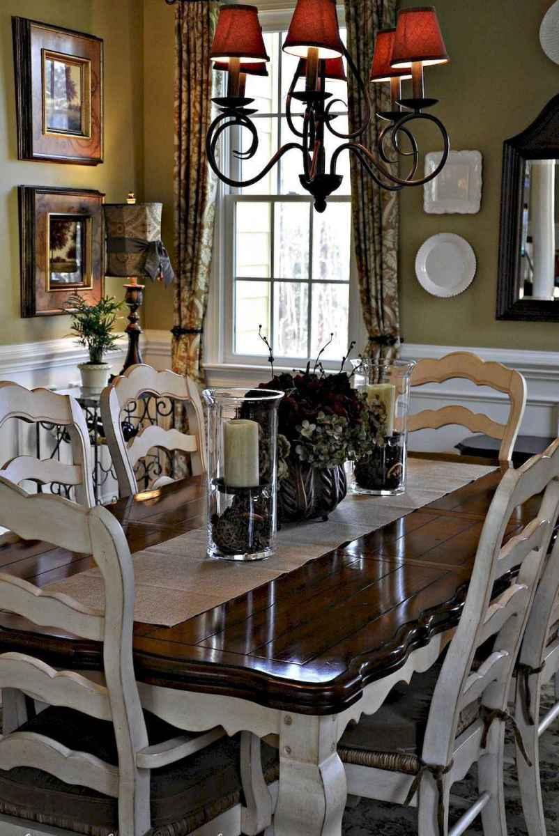 63 best farmhouse dining room makeover decor ideas