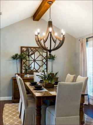 64 best farmhouse dining room makeover decor ideas