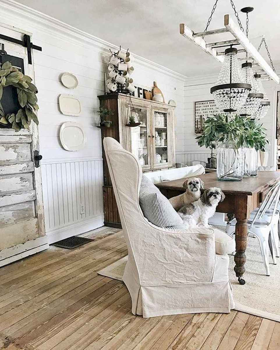 69 best farmhouse dining room makeover decor ideas