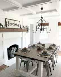 72 best farmhouse dining room makeover decor ideas